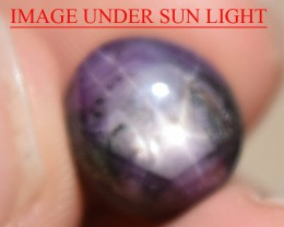 11.85 Ct DOUBLE Star Sapphire CERTIFIED Beautiful Natural Unheated Untreate
