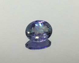 2.78 Ct. Tanzanite VVS GIL Certified African Blue  -  Gorgeous !