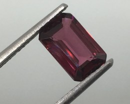 1.72 Carat Garnet VVS Purplish Red Rhodalite - Quality