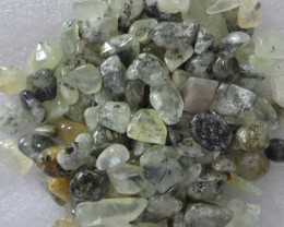 Prehnite stone tumbled polished chips