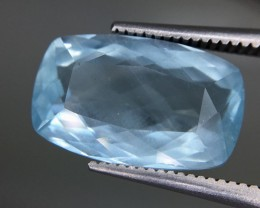 5.40 Crt Aquamarine Faceted Gemstone (R 202)