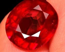 (B4) Splendid Natural 5.82ct. Blood Red Ruby Heated