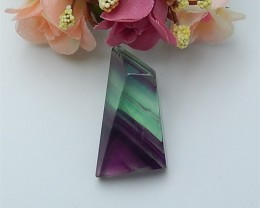 100ct On Sale Natural Rainbow Fluorite Gemstone Rough (18070903)