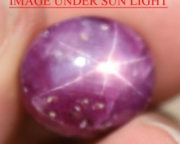 17.01 Ct Star Ruby CERTIFIED Beautiful Natural Unheated Untreated