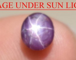 1.36 Ct Star Ruby CERTIFIED Beautiful Natural Unheated Untreated