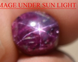4.94 Ct Star Ruby CERTIFIED Beautiful Natural Unheated Untreated
