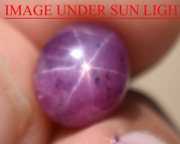 6.09 Ct Star Ruby CERTIFIED Beautiful Natural Unheated Untreated