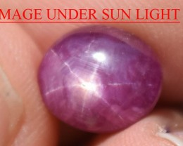 4.97 Ct Star Ruby CERTIFIED Beautiful Natural Unheated Untreated