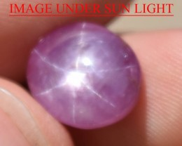 7.12 Ct Star Ruby CERTIFIED Beautiful Natural Unheated Untreated