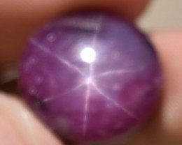 29.18 Ct Star Ruby CERTIFIED Beautiful Natural Unheated Untreated