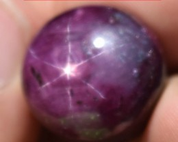 60.32 Ct Star Ruby CERTIFIED Beautiful Natural Unheated Untreated