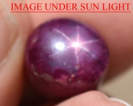 11.90 Ct Star Ruby CERTIFIED Beautiful Natural Unheated Untreat