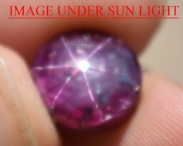 8.68 Ct Star Ruby CERTIFIED Beautiful Natural Unheated Untreated