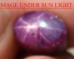10.08 Ct Star Ruby CERTIFIED Beautiful Natural Unheated Untreated