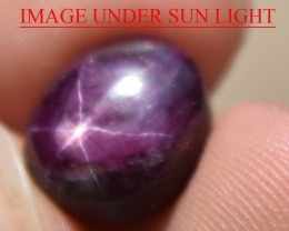 12.49 Ct Star Ruby CERTIFIED Beautiful Natural Unheated Untreated