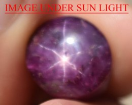 11.71 Ct Star Ruby CERTIFIED Beautiful Natural Unheated Untreated