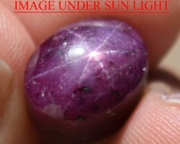 14.28 Ct Star Ruby CERTIFIED Beautiful Natural Unheated Untreated