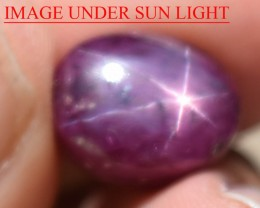 11.14 Ct Star Ruby CERTIFIED Beautiful Natural Unheated Untreated