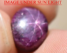 8.21 Ct Star Ruby CERTIFIED Beautiful Natural Unheated Untreated