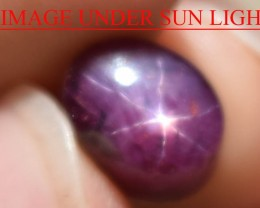8.07 Ct Star Ruby CERTIFIED Beautiful Natural Unheated Untreated