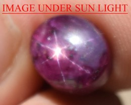 8.55 Ct Star Ruby CERTIFIED Beautiful Natural Unheated Untreated