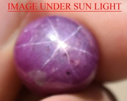 20.24 Ct Star Ruby CERTIFIED Beautiful Natural Unheated Untreated