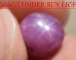 5.51 Ct Star Ruby CERTIFIED Beautiful Natural Unheated Untreated