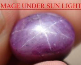 11.96 Ct Star Ruby CERTIFIED Beautiful Natural Unheated Untreated
