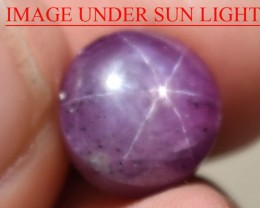 10.46 Ct Star Ruby CERTIFIED Beautiful Natural Unheated Untreated