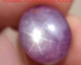 12.32 Ct Star Ruby CERTIFIED Beautiful Natural Unheated Untreated
