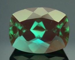 Rarest 1.72 ct Sunstone Green Color Change Ponderosa Mine Oregon SKU.2