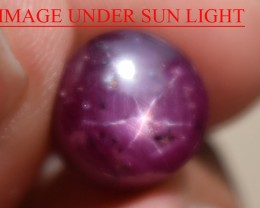 8.06 Ct Star Ruby CERTIFIED Beautiful Natural Unheated Untreated