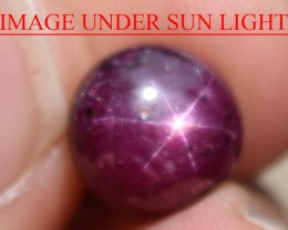 6.03 Ct Star Ruby CERTIFIED Beautiful Natural Unheated Untreated