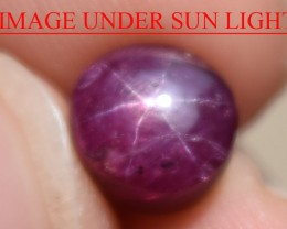 5.62 Ct Star Ruby CERTIFIED Beautiful Natural Unheated Untreated