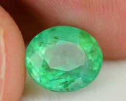 Gil Certified 2.72 ct Glowing Columbian Emerald SKU.7