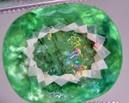 GIL CERT 8.18 CT NATURAL RARE QUALITY PARAIBA TOURMALINE GEMSTONE