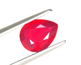 1.91Cts Madagascar Natural Oval Red Ruby Gemstone