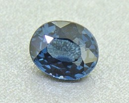 N/R Cobalt Spinel Untreated 0.74 ct.  - (01239)  Rare Gemstone