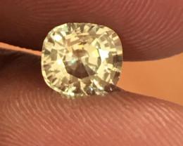 Natural light yellow sapphire  Loose Gemstone New Certified  Sri Lanka