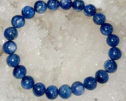 Natural  Kyanite  beads Stone bracelet 7 MM
