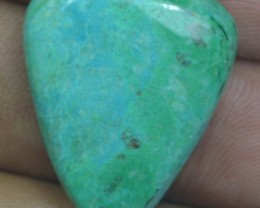 CHRYSOCOLLA STONE 24.55 Ct Natural Cabochon x3-148