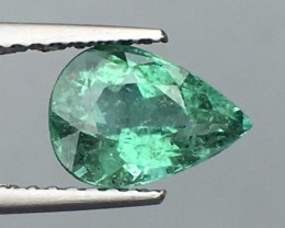 Certified 1.34 Cts Paraiba Tourmaline Attractive Higher Color ~ Mozambique