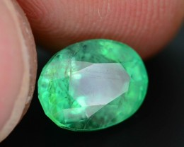 Gil Certified AAA Quality 2.25 ct Colombian Emerald SKU.7