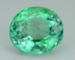 Gil Certified AAA Quality 1.51 ct Colombian Emerald SKU.7