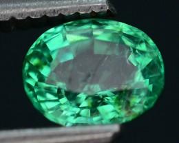 Gil Certified AAA Quality 1.12 ct Colombian Emerald SKU.7