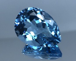 14.94 CT NATURAL TOPAZ HIGH QUALITY GEMSTONE T2