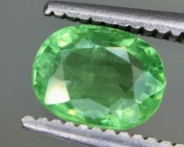 0.85 Crt Tsavorite Faceted Gemstone (R 203)
