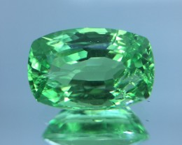 1.55 Cts Untreated Tsavorite Awesome Color & Cut ~ Tk4