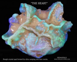 TEN OPAL POSTERS -UNUSUAL OPAL ROUGH SPECIMEN