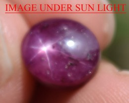 7.20 Ct Star Ruby CERTIFIED Beautiful Natural Unheated Untreated